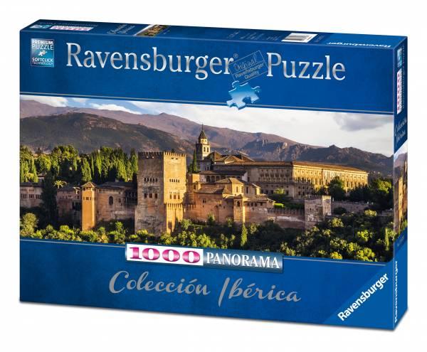 Puzzle Ravensburger La Alhambra, Granada de 1000 Piezas
