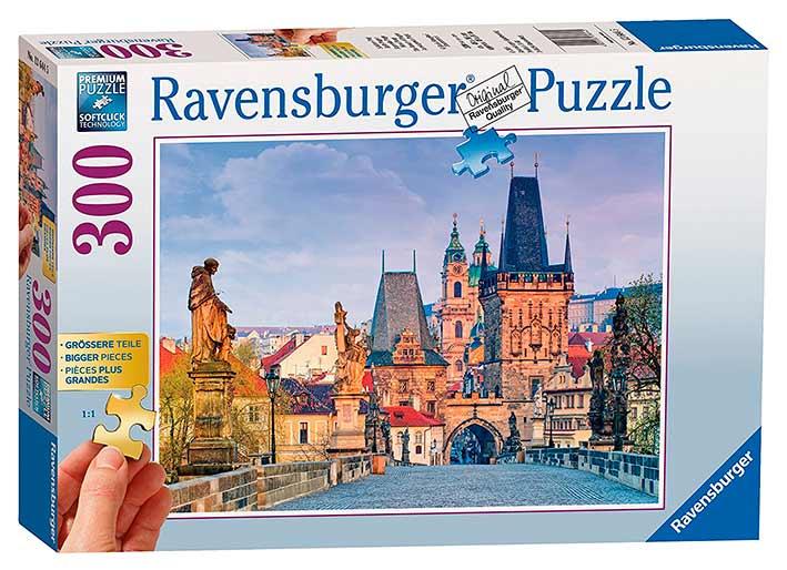 Puzzle Ravensburger La Bella Praga 300 Piezas
