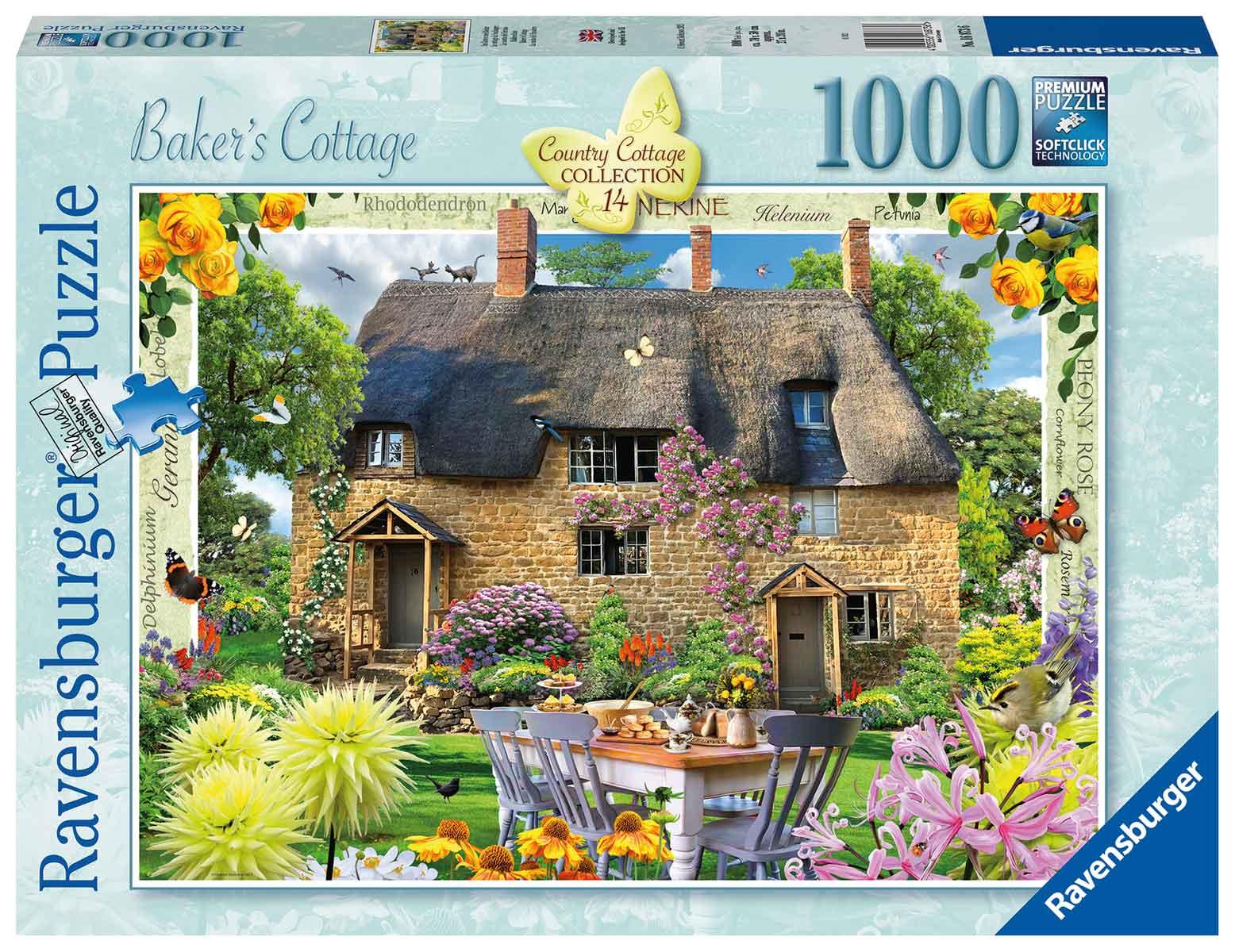 Puzzle Ravensburger La Cabaña del Panadero de 1000 Piezas