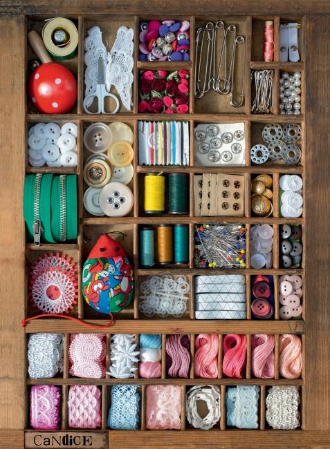 Puzzle Ravensburger La Caja de Costura de 500 Piezas