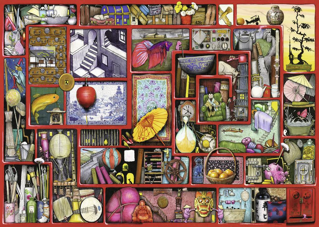 Puzzle Ravensburger La Caja Roja de 1000 Piezas