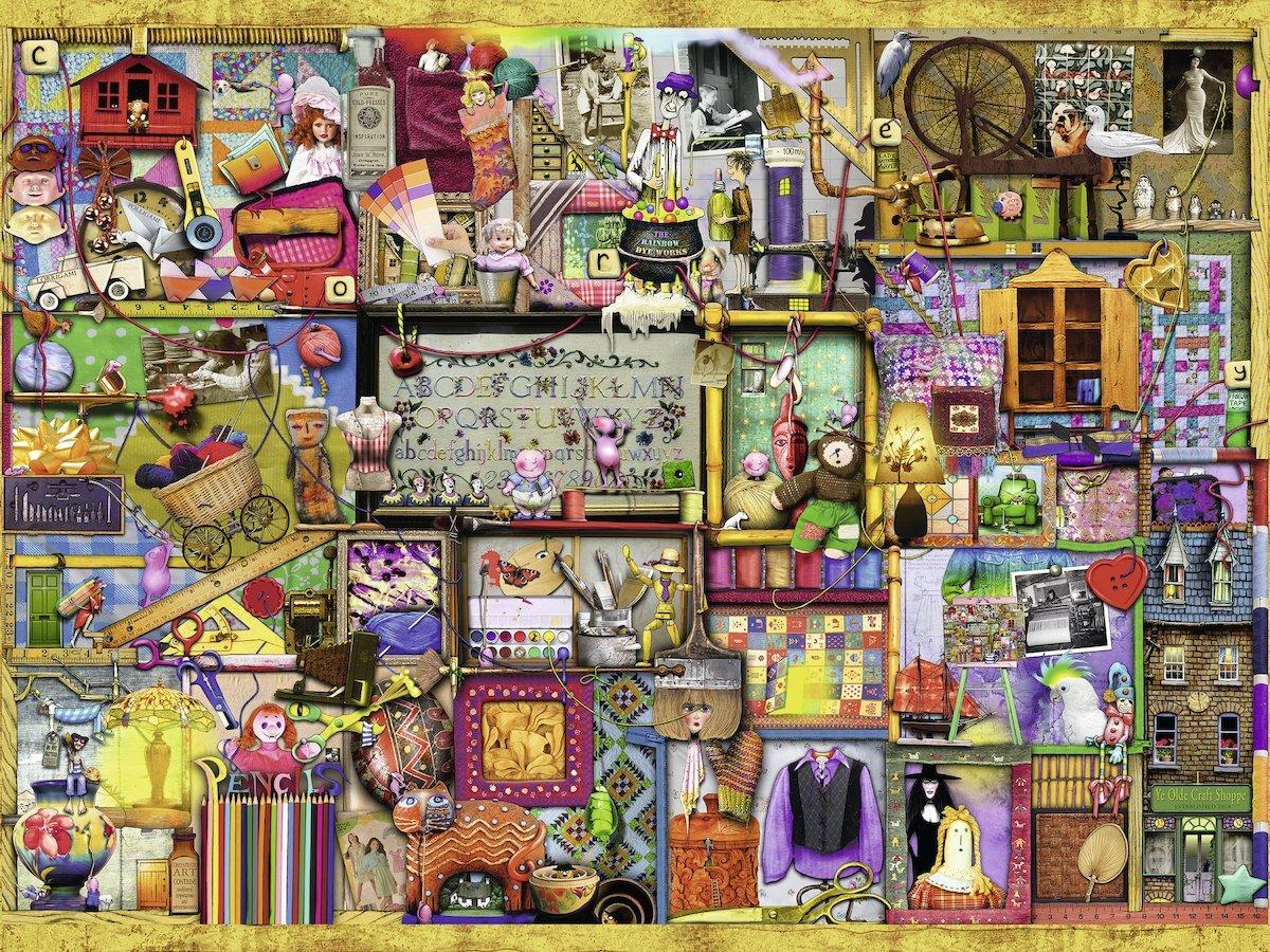 Puzzle Ravensburger La Estantería de Bricolage de 1500 Piezas