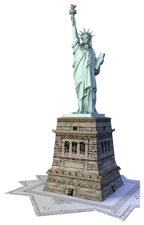 Puzzle Ravensburger La Estatua de la Libertad 3D 108 Piezas