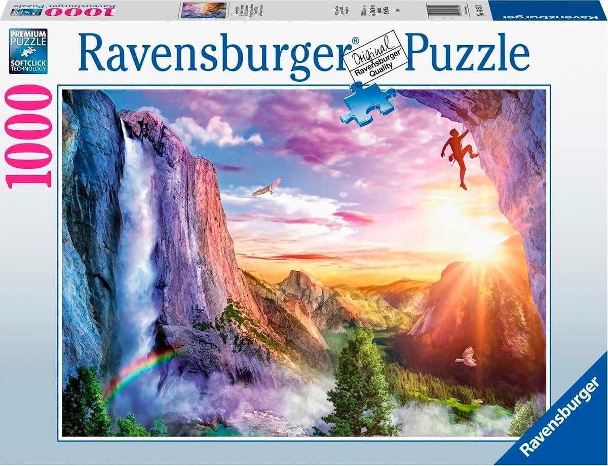 Puzzle Ravensburger La Felicidad del Escalador de 1000 Piezas