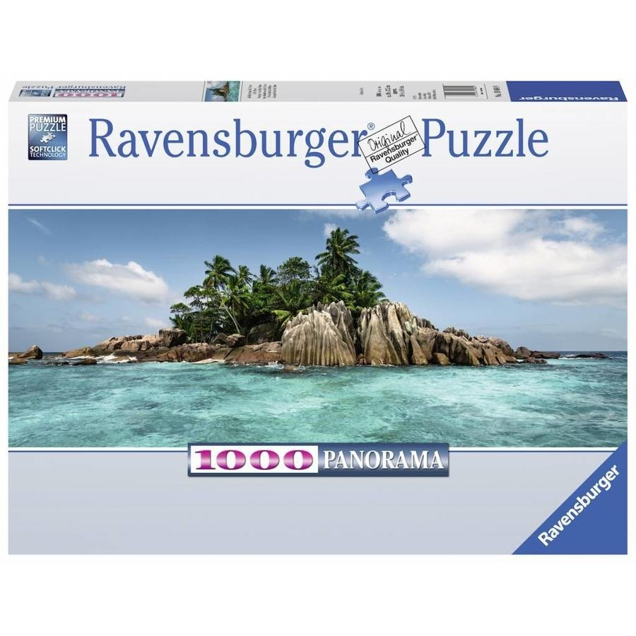 Puzzle Ravensburger La Isla de St. Pierre de 1000 Piezas