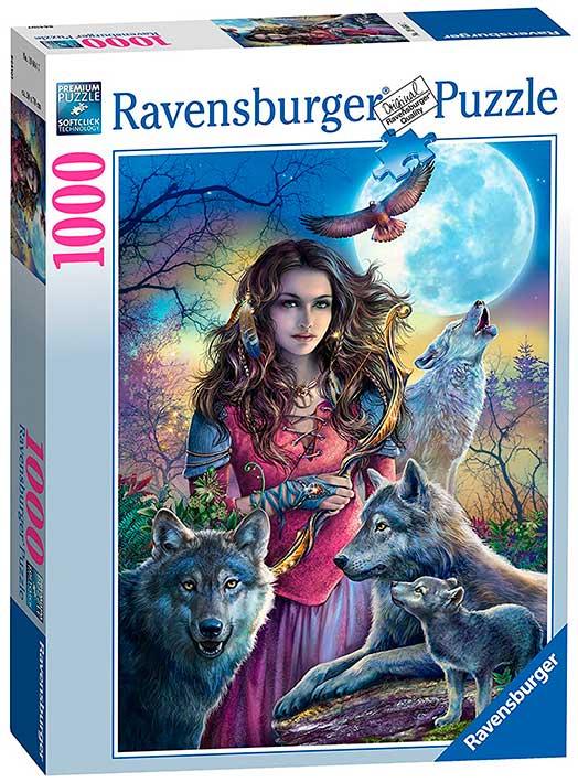 Puzzle Ravensburger La Madrina de los Lobos de 1000 Piezas