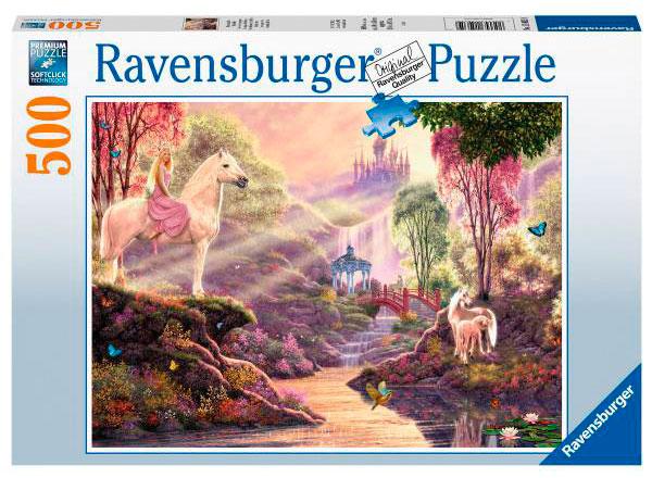 Puzzle Ravensburger La Magia del Río 500 Piezas