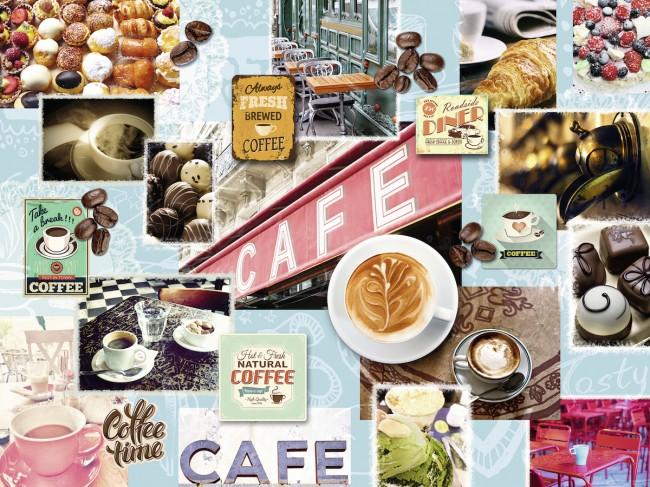 Puzzle Ravensburger La Pausa del Café de 1500 Piezas