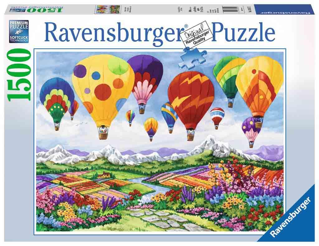 Puzzle Ravensburger La Primavera está en el Aire de 1500 Piezas