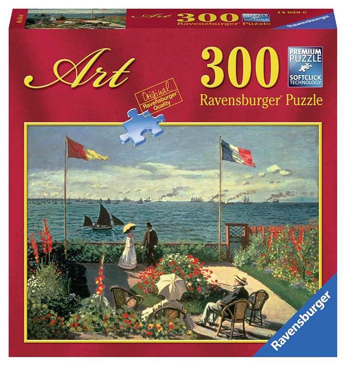 Puzzle Ravensburger La Terraza de Saint-Adresse 300 P