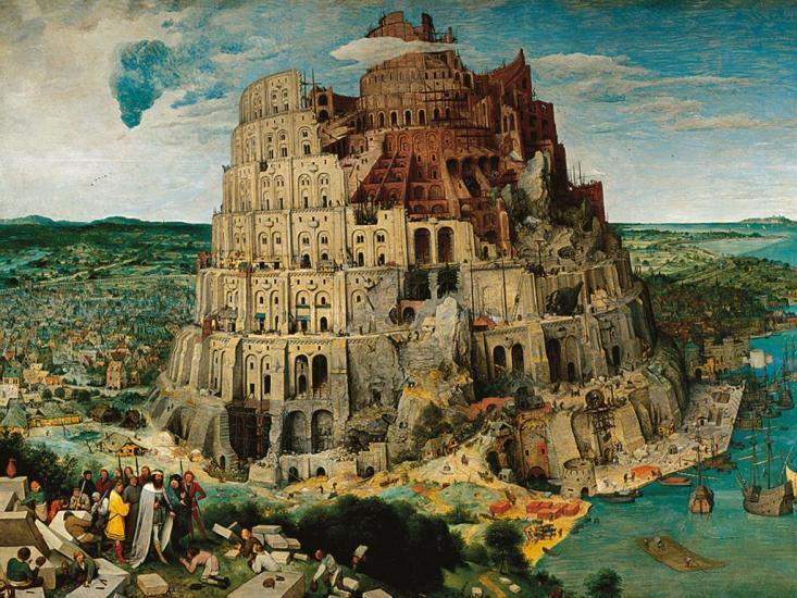 Puzzle Ravensburger La Torre de Babel de 5000 Piezas