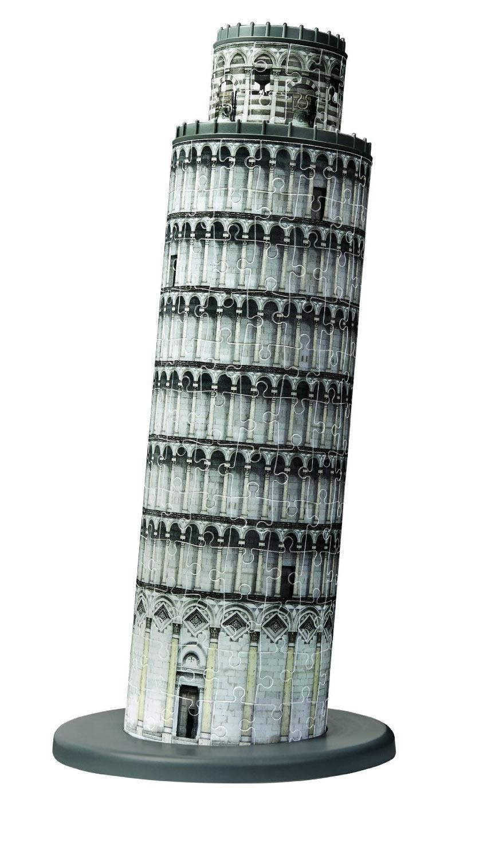 Puzzle Ravensburger La Torre de Pisa, Italia 3D 216 Piezas