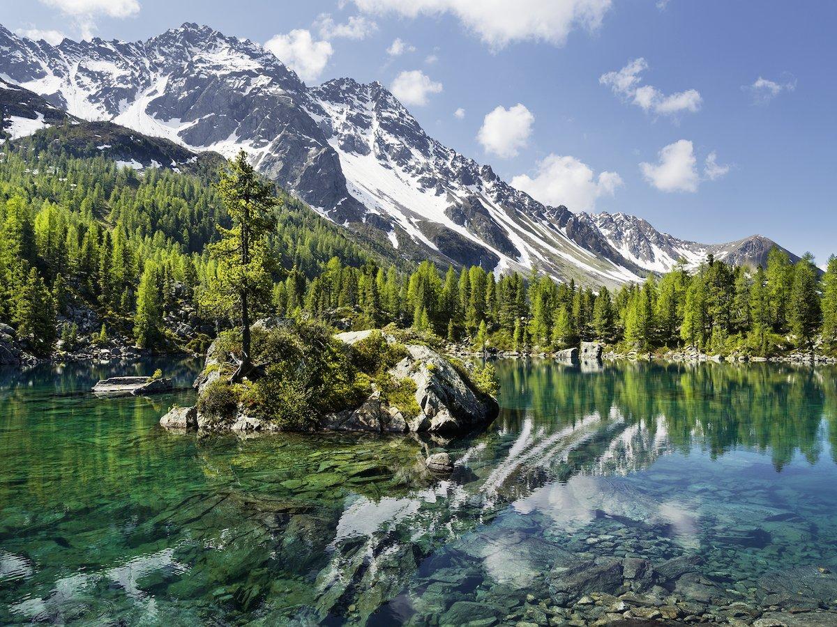 Puzzle Ravensburger Lago de Montaña de 1500 Piezas
