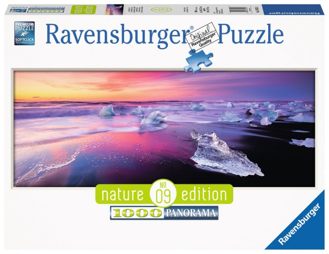 Puzzle Ravensburger Lago Jokulsarlon, Islandia de 1000 Piezas