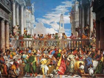 Puzzle Ravensburger Las Bodas de Cana, 1562-1563 de 2000 Piezas