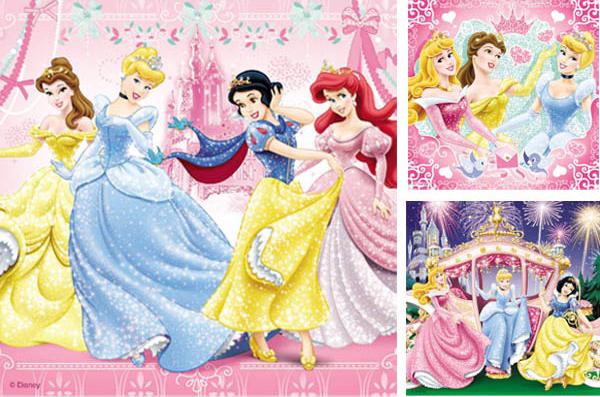 Puzzle Ravensburger Las Princesas 3 x 49 Piezas
