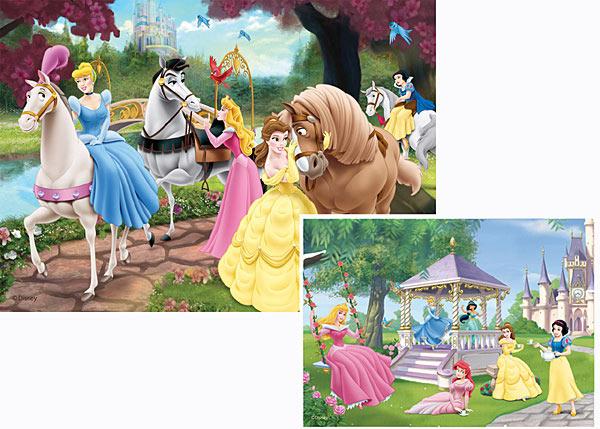 Puzzle Ravensburger Las Princesas Mágicas 2 x 20 Piezas