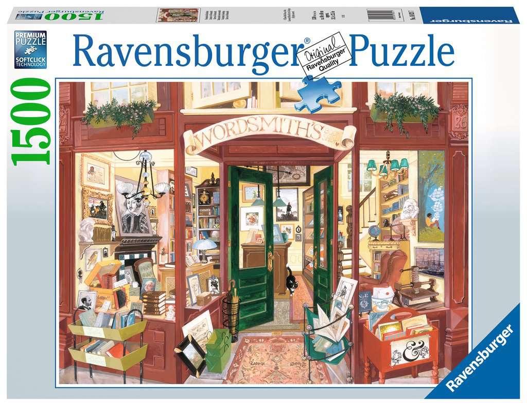 Puzzle Ravensburger Librería de Wordsmith de 1500 Piezas