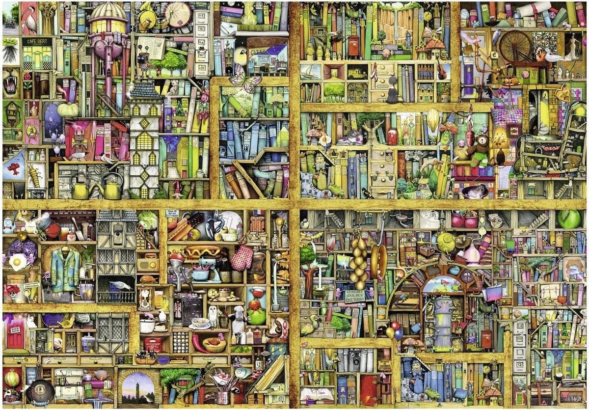 Puzzle Ravensburger Librería Mágica XXL de 18000 Piezas