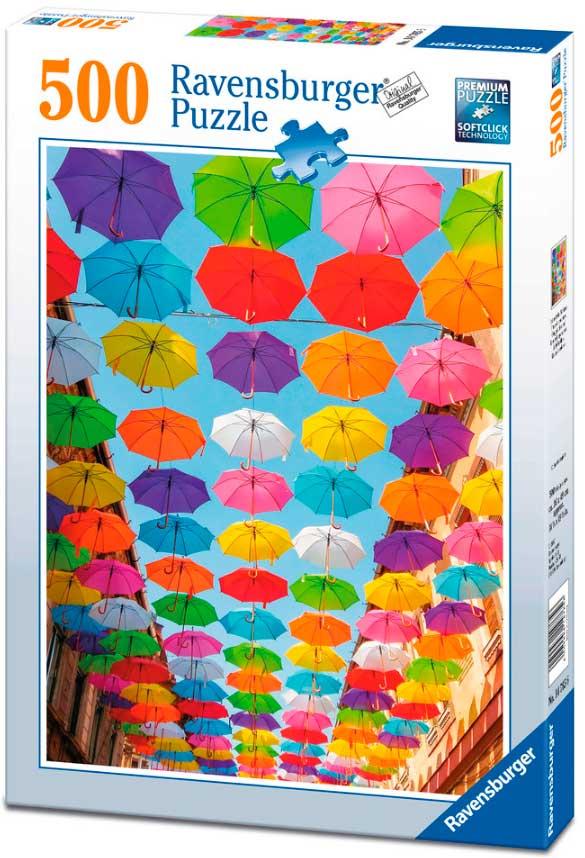 Puzzle Ravensburger Lluvia de Colores 500 Piezas
