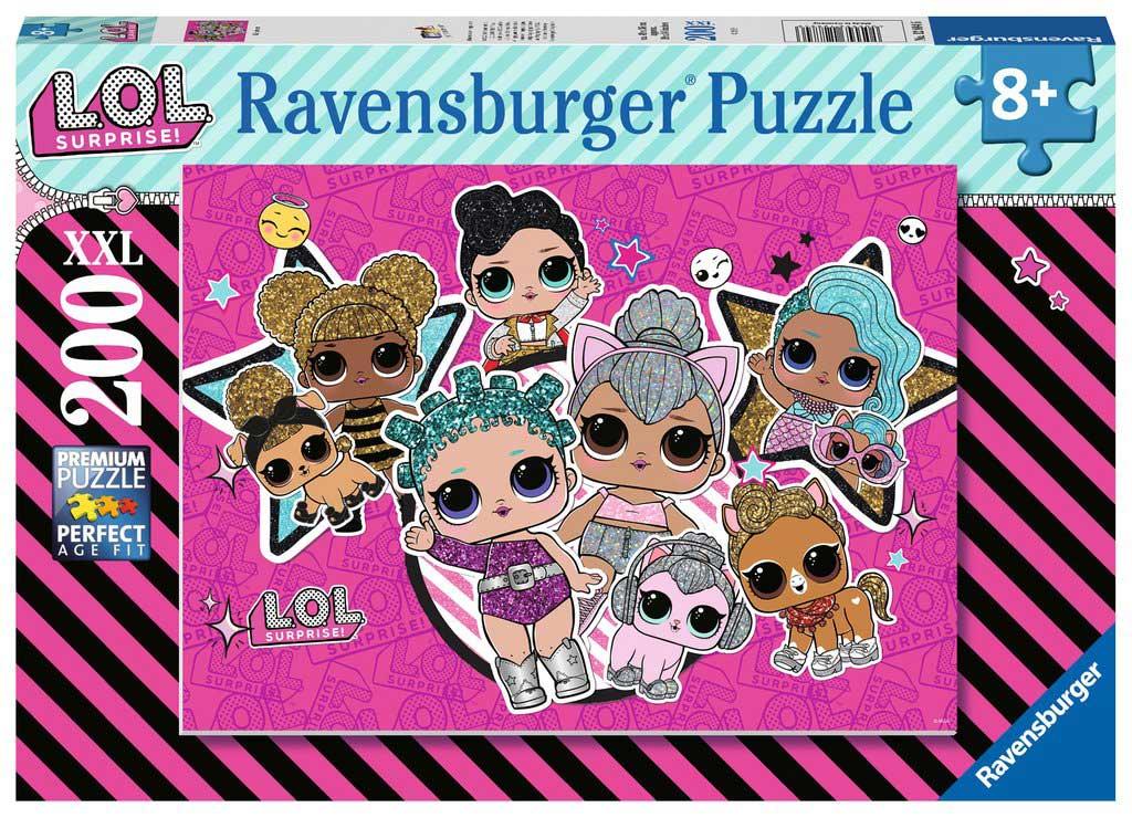 Puzzle Ravensburger LOL Girl Power XXL de 200 Piezas