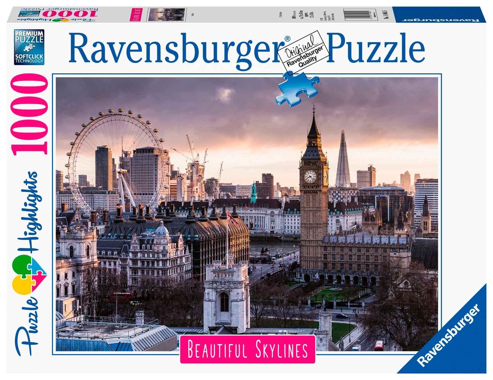 Puzzle Ravensburger Londres de 1000 Piezas