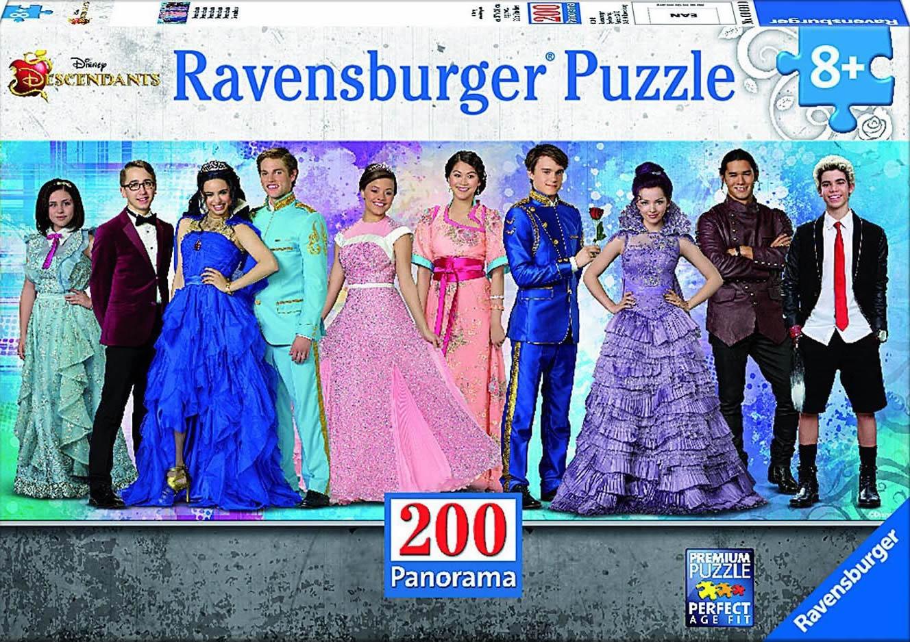 Puzzle Ravensburger Los Descendientes Panorama de 200 Piezas