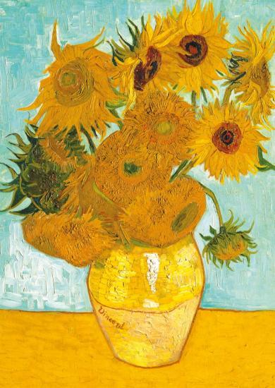 puzzles de Vincent Van Gogh, Puzzle Ravensburger Los Girasoles de 1500 Piezas