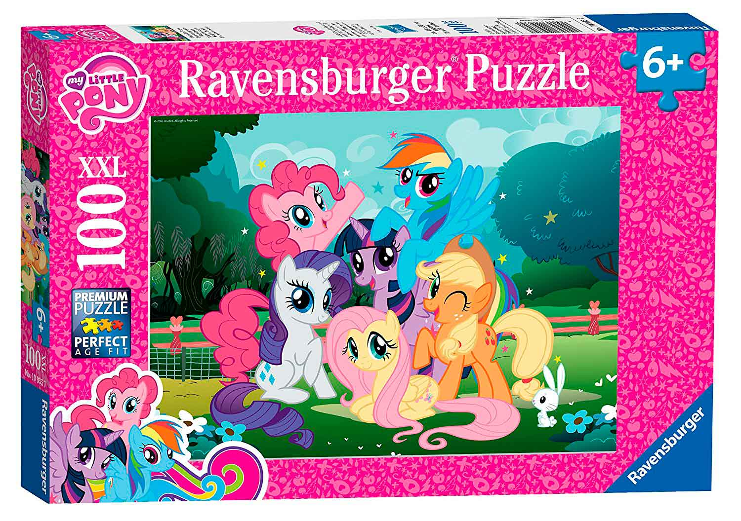 Puzzle Ravensburger My Little Pony XXL de 100 Piezas