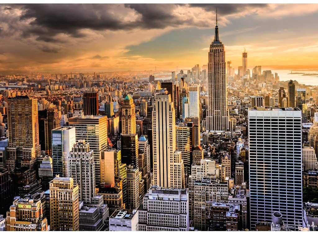 Puzzle Ravensburger Majestuosa Nueva York de 1000 Piezas