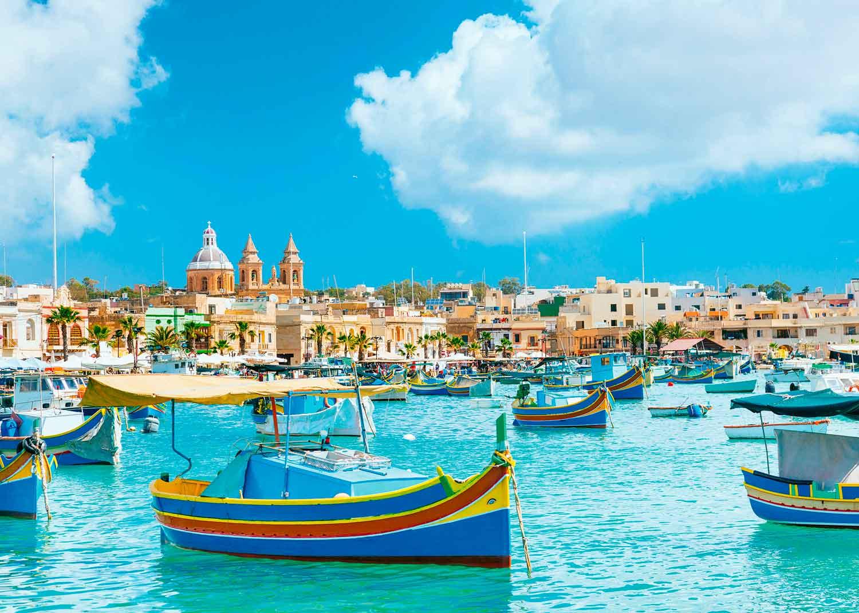 Puzzle Ravensburger Malta Mediterránea de 1000 Piezas