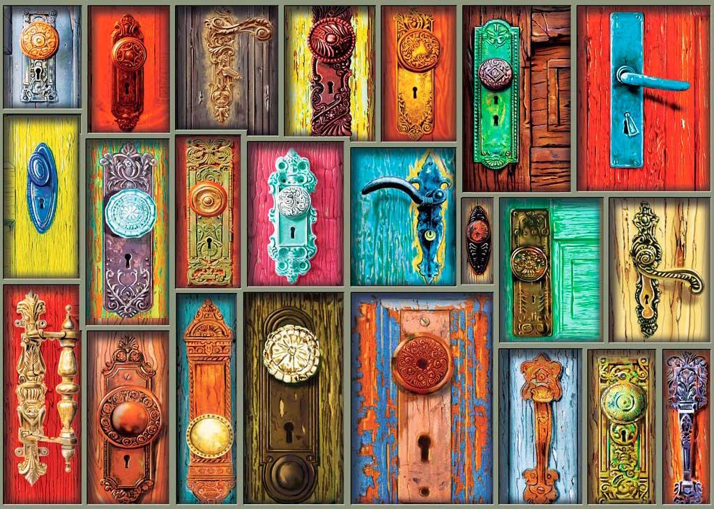 Puzzle Ravensburger Manillas Antiguas de 1000 Piezas