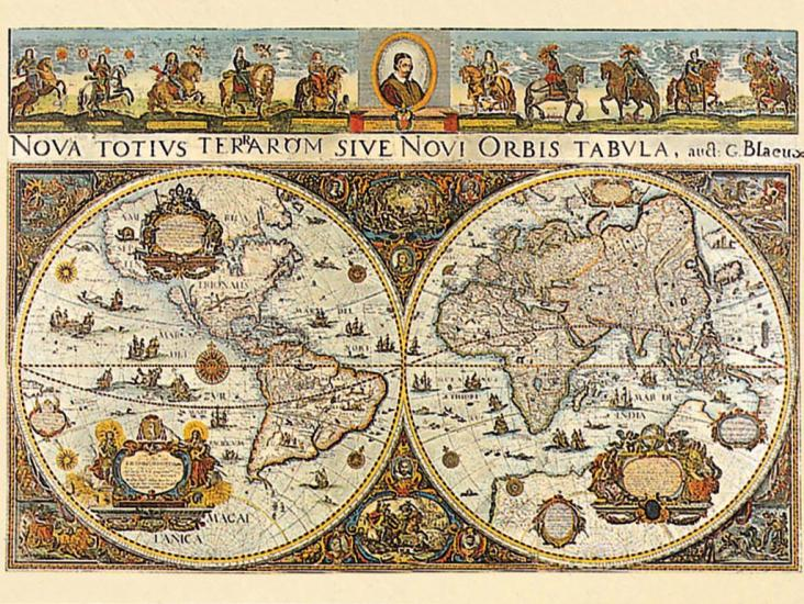 Puzzle Ravensburger Mapamundi 1665 de 3000 Piezas