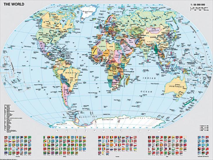 Puzzle Ravensburger Mapamundi Político de 1000 Piezas
