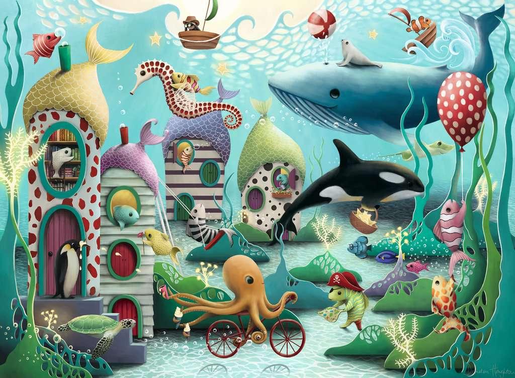 Puzzle Ravensburger Maravillas Submarinas XXL de 100 Piezas