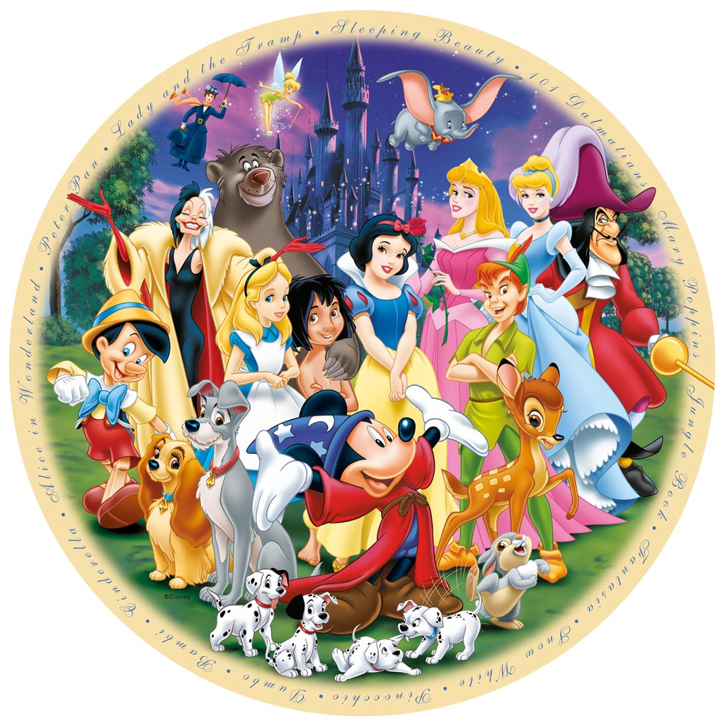 Puzzle Ravensburger Maravilloso Mundo Disney de 1000 Piezas