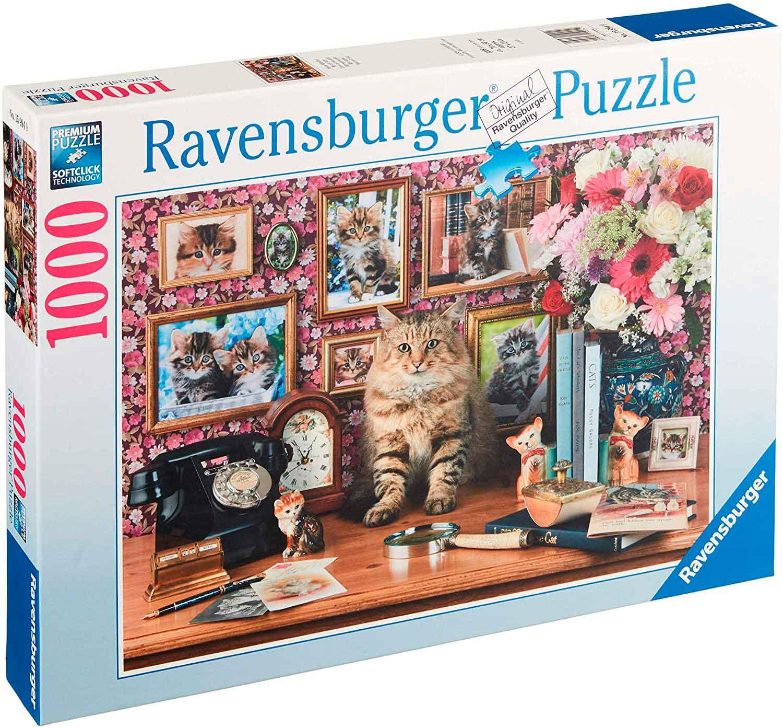 Puzzle Ravensburger Mi Pequeño Gato de 1000 Piezas
