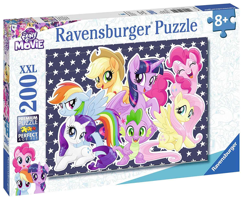 Puzzle Ravensburger My Little Pony, la Película XXL,de 200 Pieza