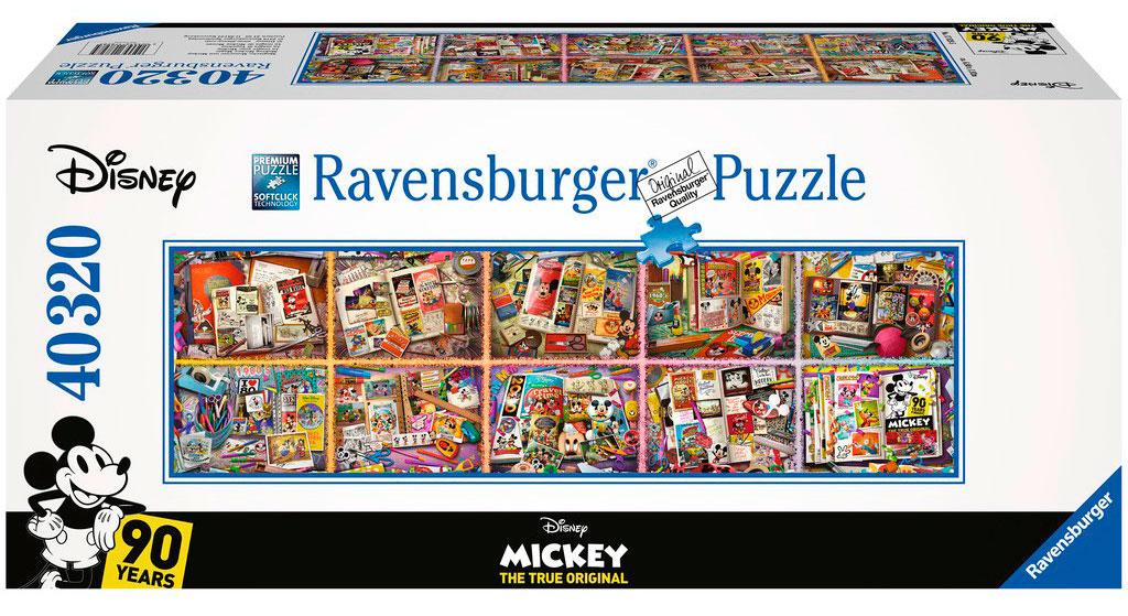 Puzzle Ravensburger Mickey a lo Largo de los Años 40320 Pzs