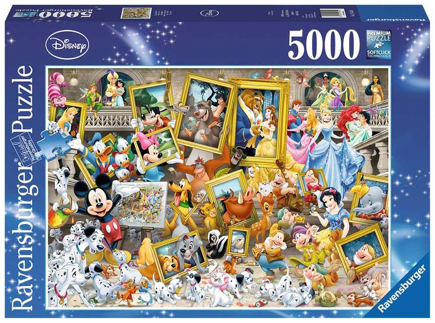 Puzzle Ravensburger Mickey Artista de 5000 Piezas