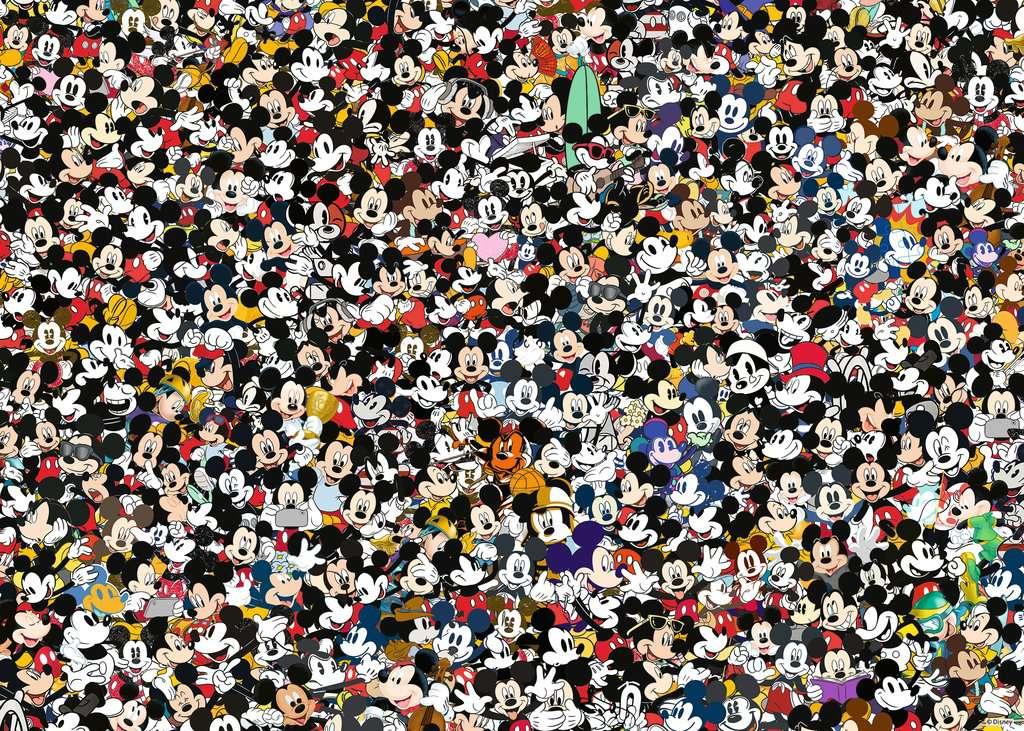 Puzzle Ravensburger Mickey Challenge de 1000 Piezas