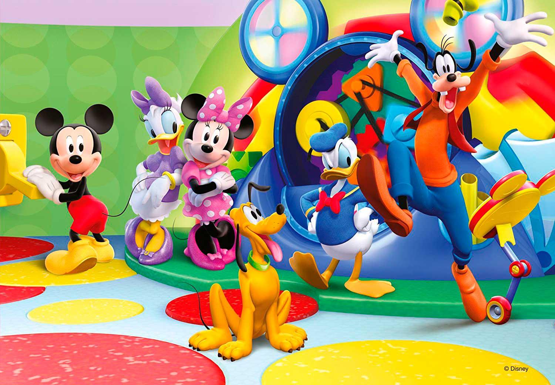 Puzzle Ravensburger Mickey y Compañía 2x12 Piezas