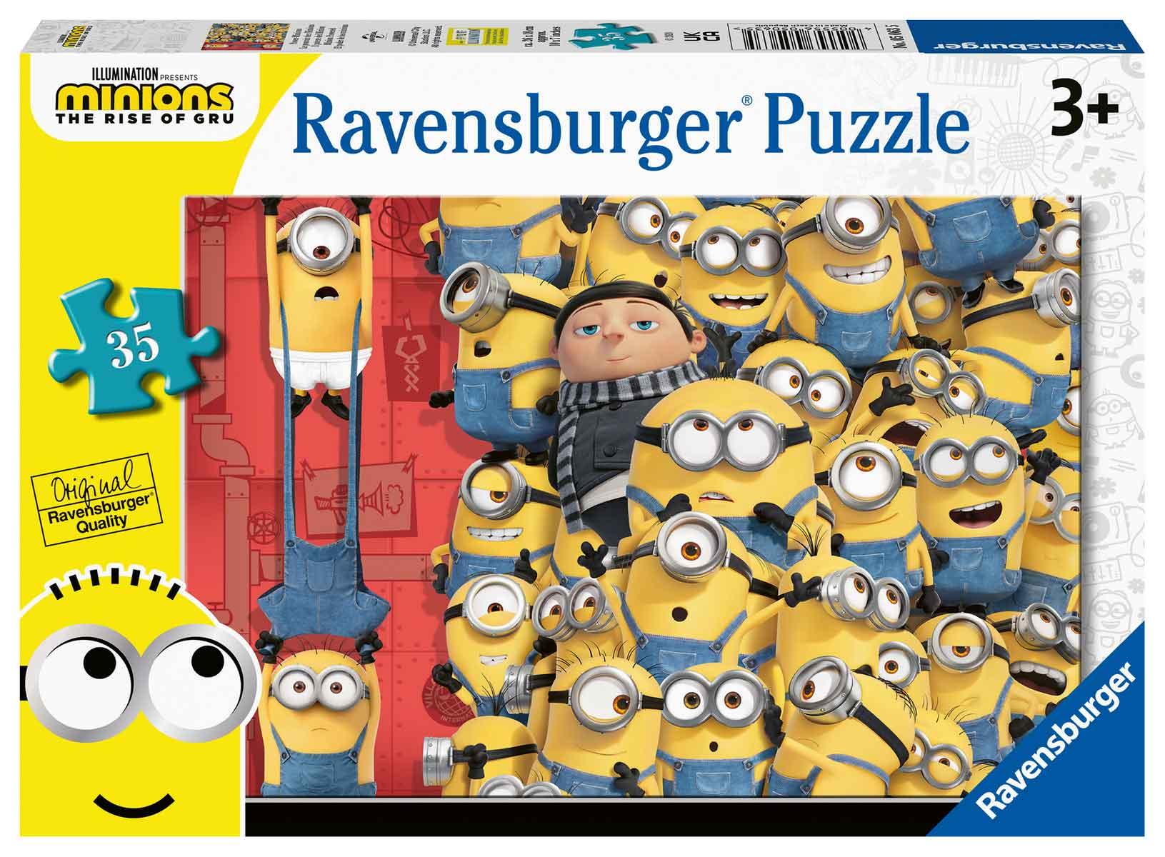 Puzzle Ravensburger Minions 2 de 35 Piezas