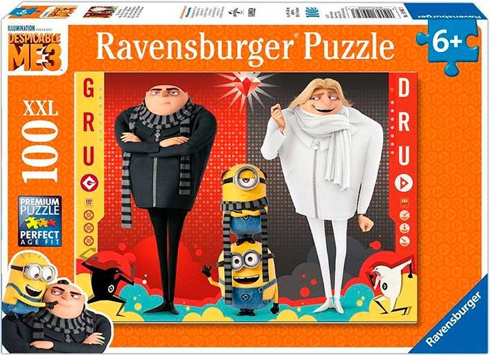 Puzzle Ravensburger Minions 3 XXL de 100 Piezas