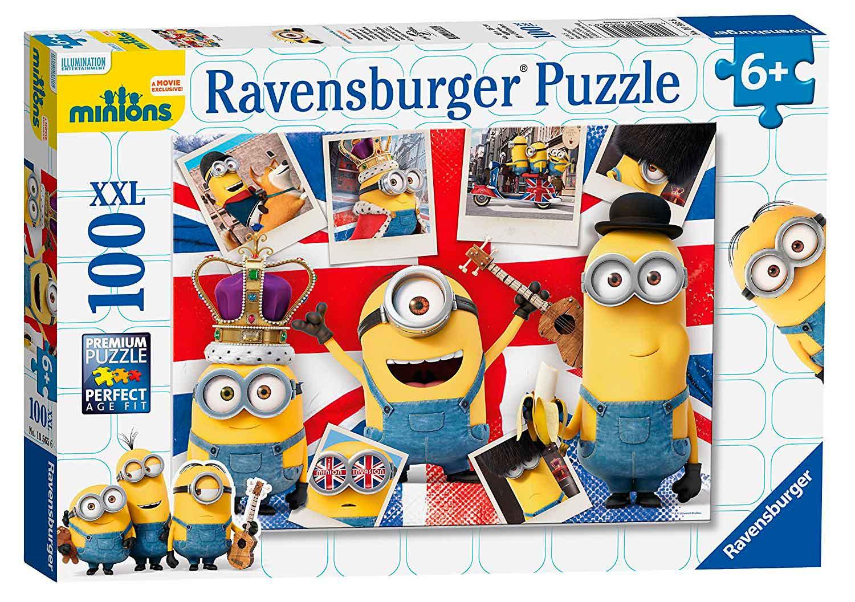 Puzzle Ravensburger Minions XXL de 100 Piezas