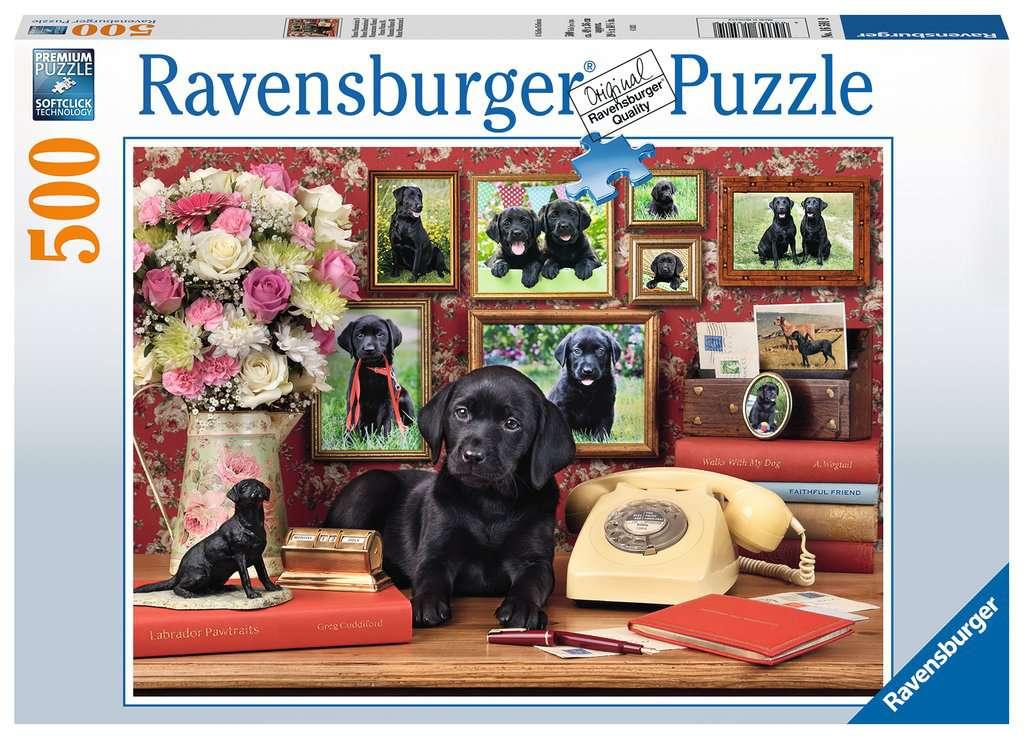 Puzzle Ravensburger Mis Fieles Amigos de 500 Piezas