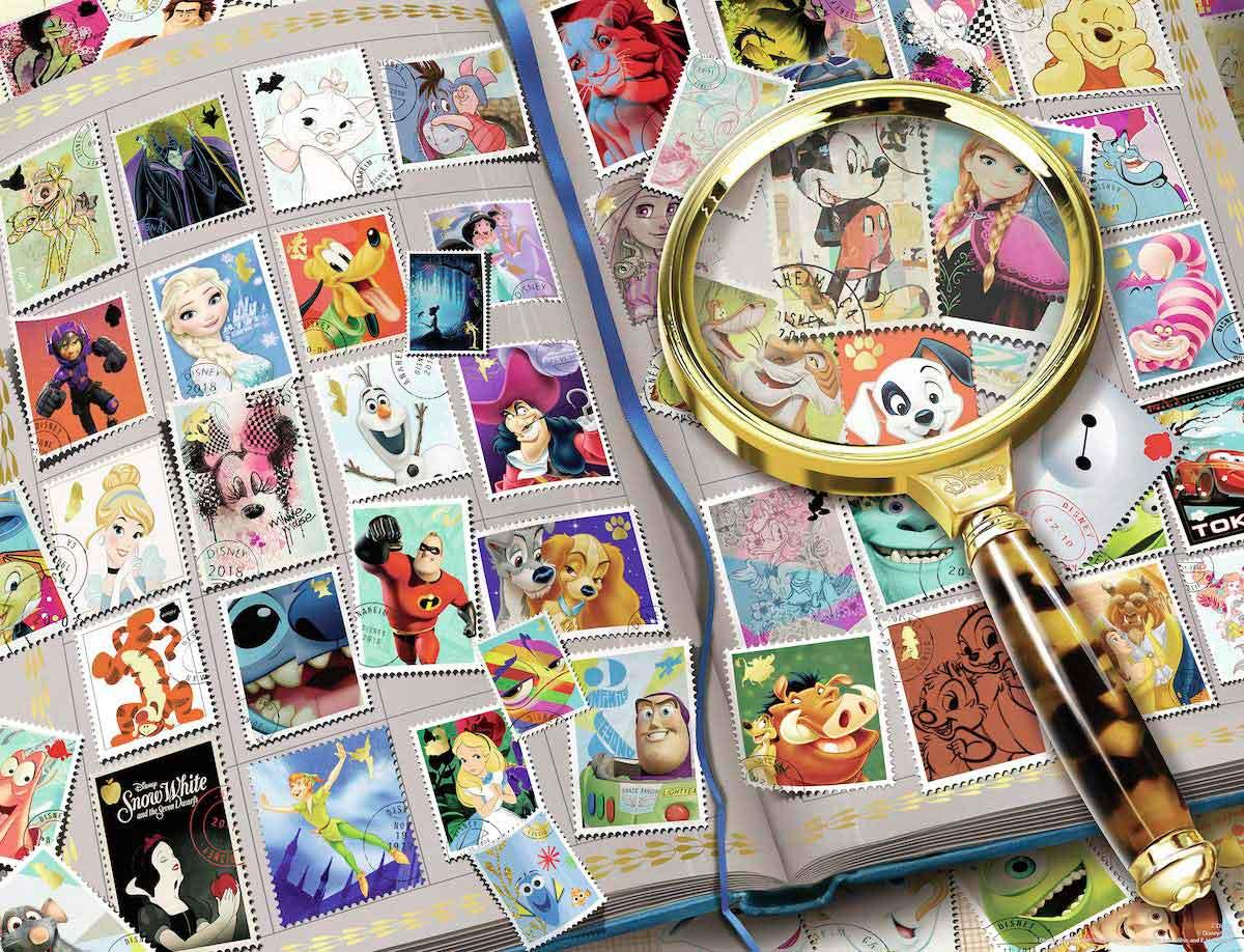 Puzzle Ravensburger Mis Sellos Favoritos Disney de 2000 Pzs