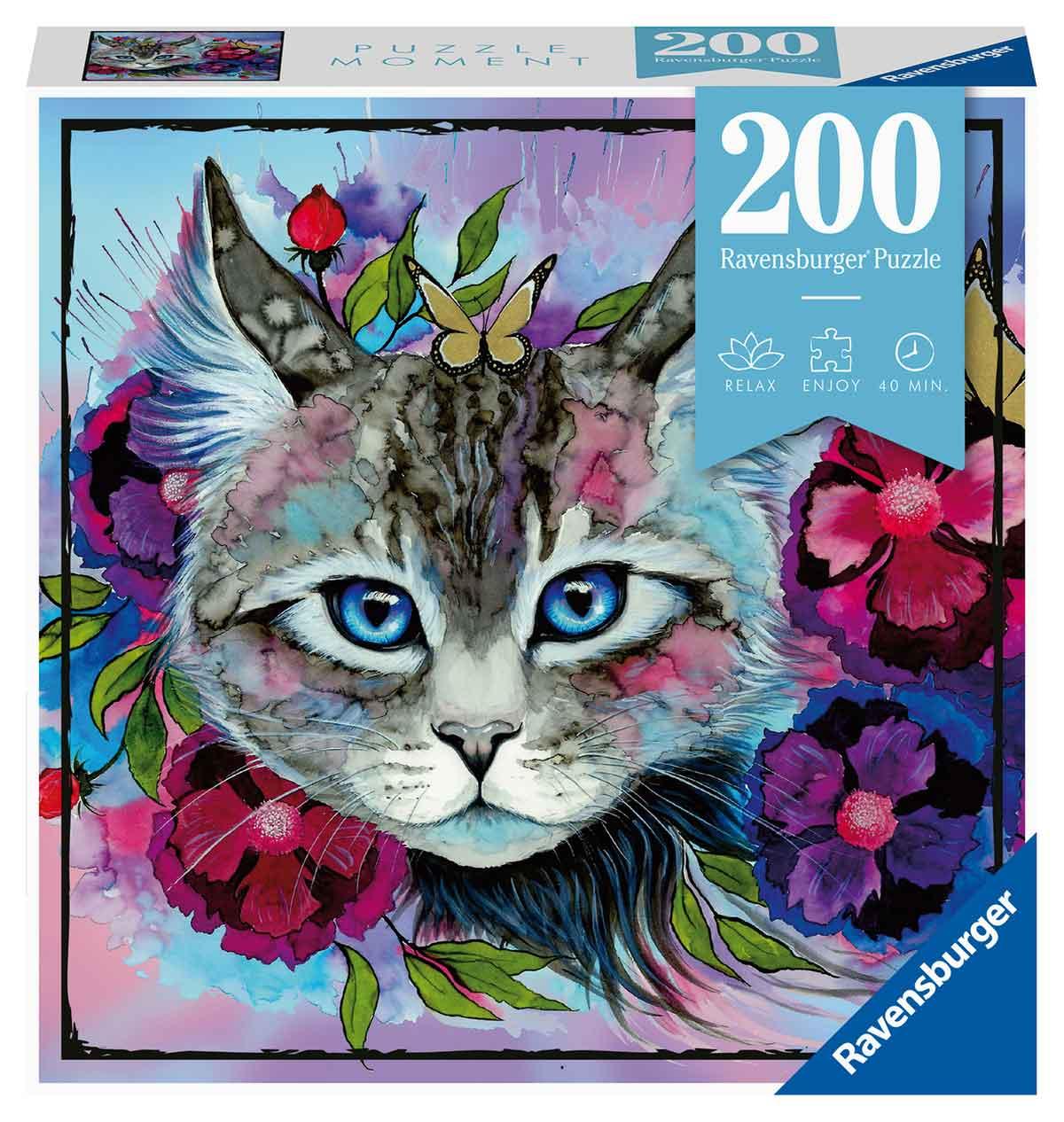 Puzzle Ravensburger Moment Gato de 200 Piezas