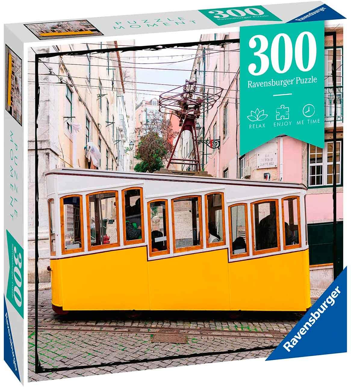 Puzzle Ravensburger Moment Lisbona de 300 Piezas