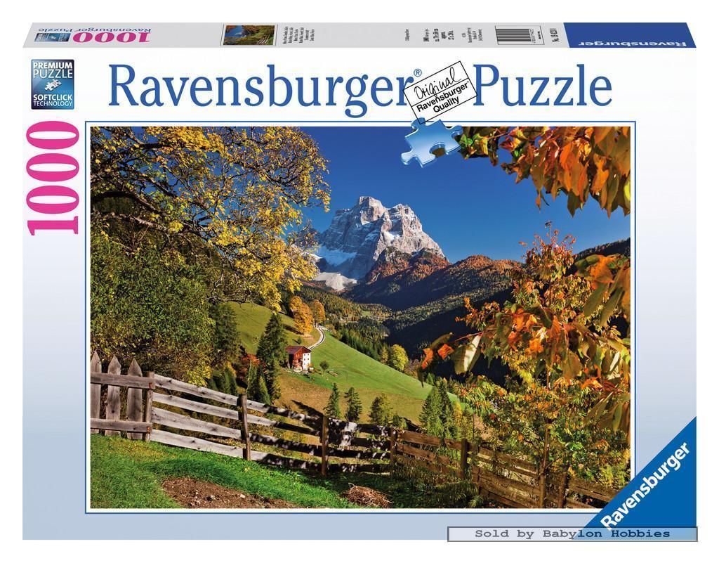 Puzzle Ravensburger Monte Pelmo, Venecia, Italia de 1000 Piezas